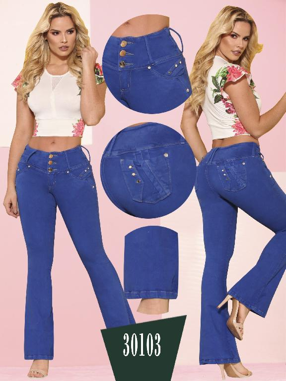 Jeans LevantaCola Colombiano Thaxx  Essentials - Ref. 119 -30103 TE