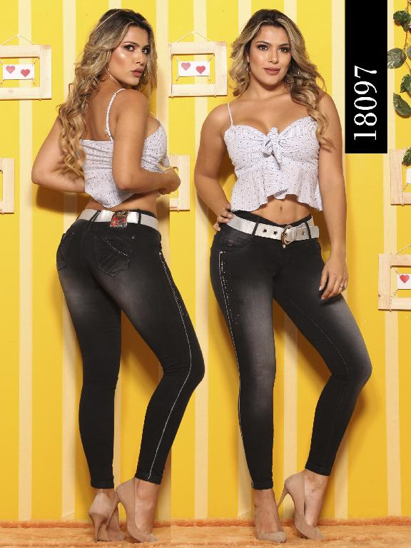 Jeans Levantacola Colombiano Dinasty - Ref. 249 -18097-DY
