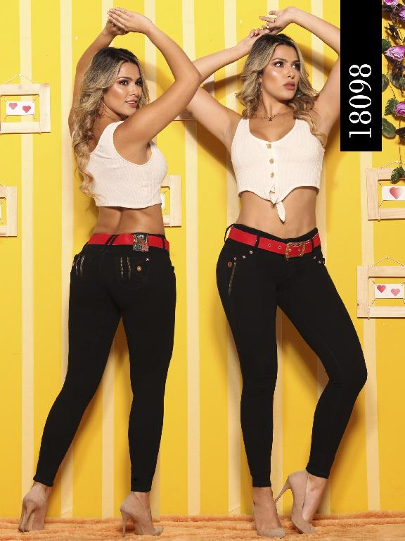 Jeans Levantacola Colombiano Dinasty - Ref. 249 -18098-DY