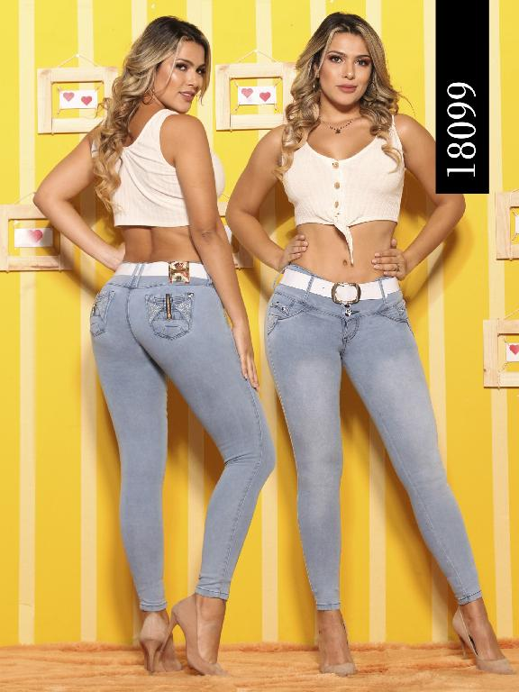Jeans Levantacola Colombiano Dinasty - Ref. 249 -18099-DY