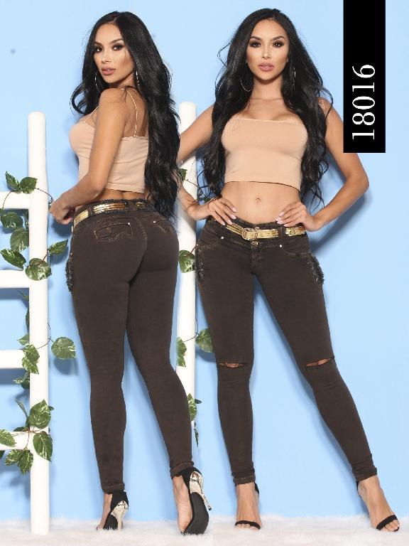 Jeans Levantacola Colombiano Dinasty - Ref. 249 -18016-DY
