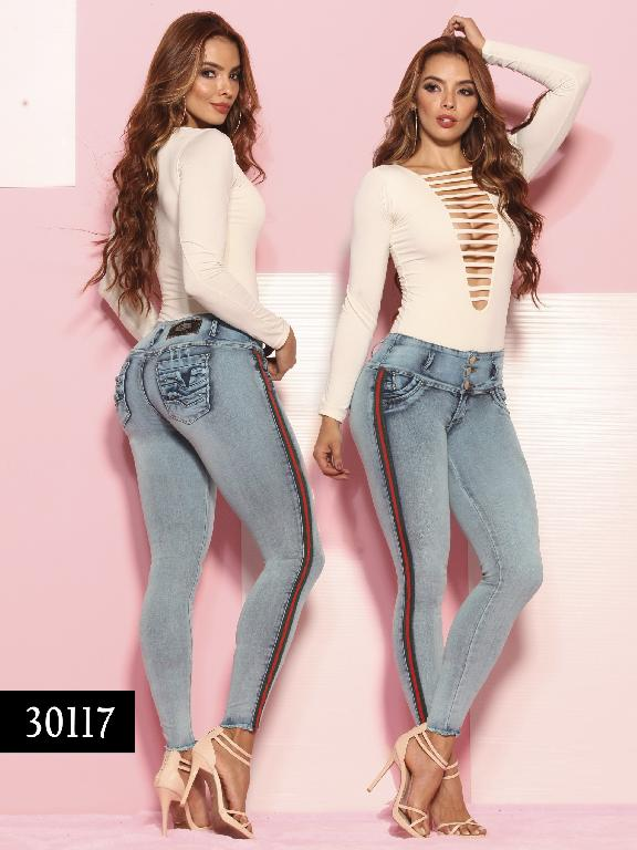 Jeans LevantaCola Colombiano Thaxx  Essentials - Ref. 119 -30117-TE