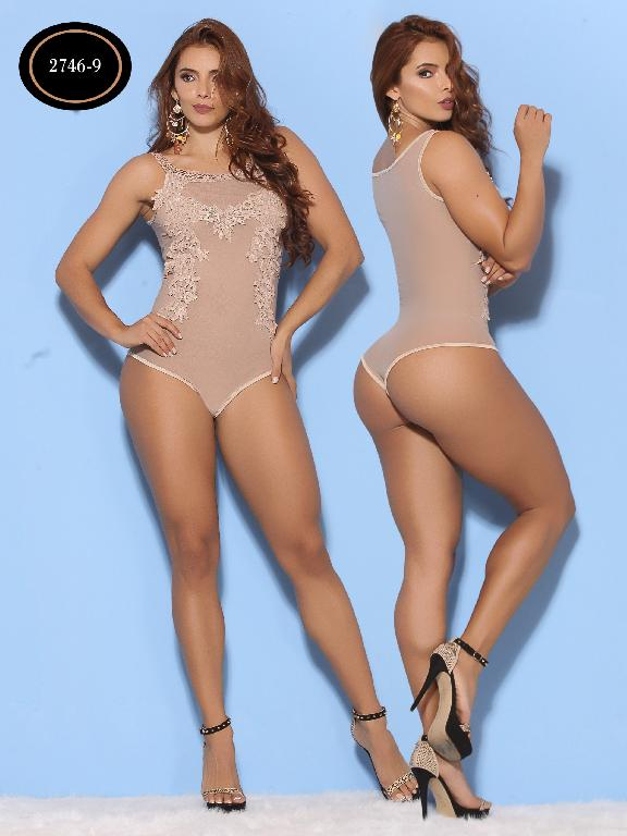 Body Moda Azulle Fashion  - Ref. 256 -2746-9 Cafe
