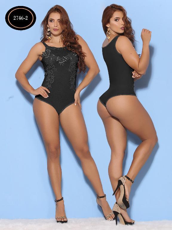Body Moda Azulle Fashion  - Ref. 256 -2746-2 Negro