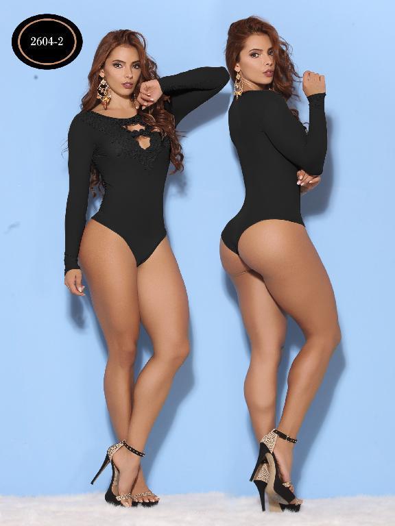 Body Moda Azulle Fashion  - Ref. 256 -2604-2 Negro