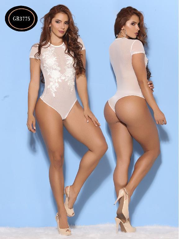 Body Moda Azulle Fashion  - Ref. 256 -GR3775-1 Blanco