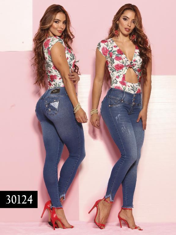 Jeans LevantaCola Colombiano Thaxx  Essentials - Ref. 119 -30124-TE