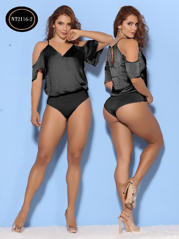 Body Moda Azulle Fashion  - Ref. 256 -NT2116-2 Negro