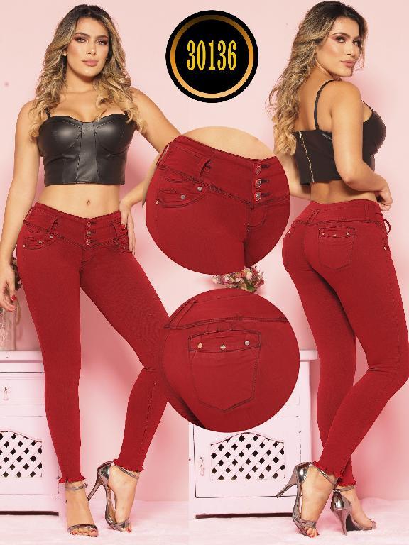 Colombian Butt lifting Jean - Ref. 119 -30136TE PLUS