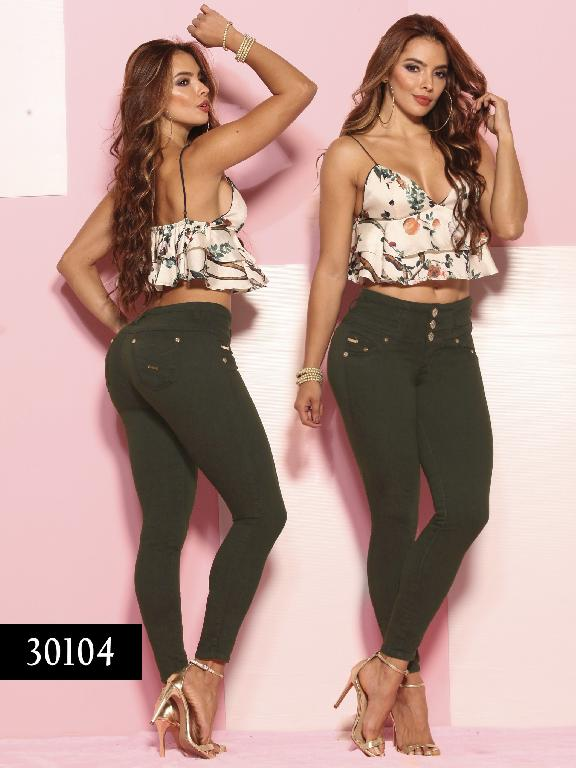 Jeans LevantaCola Colombiano Thaxx  Essentials - Ref. 119 -30104 TE