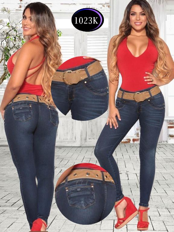 Jeans Levantacola Colombiano Knela - Ref. 244 -1023 K