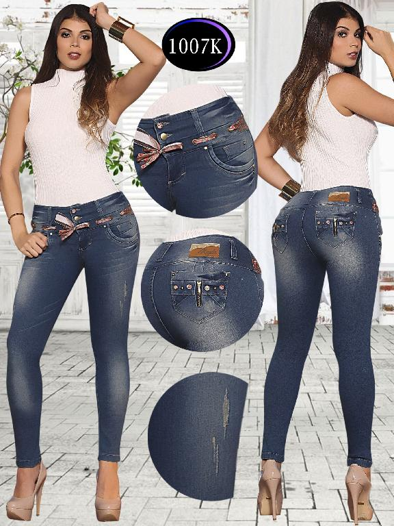 Jeans Levantacola Colombiano Knela  - Ref. 244 -1007 K