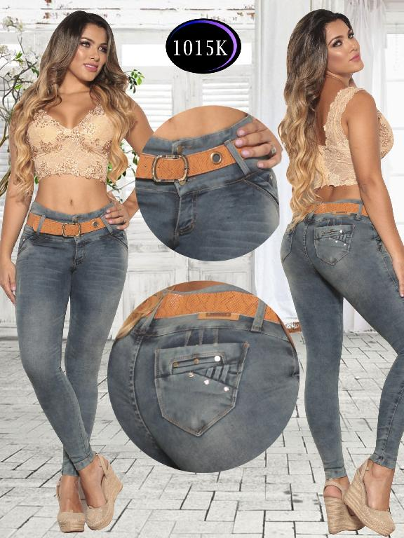 Jeans Levantacola Colombiano Knela - Ref. 244 -1015 K