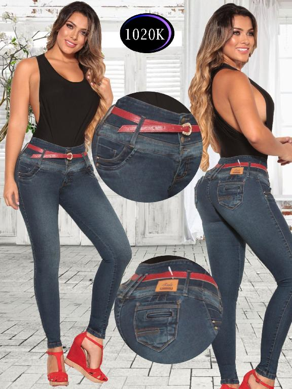 Colombian Jeans Butt Lifting Knela - Ref. 244 -1020 K