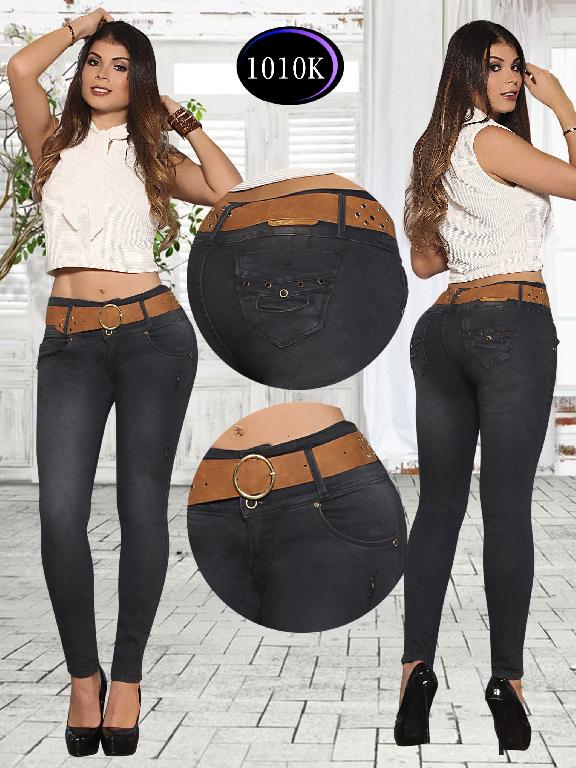Jeans Levantacola Colombiano Knela  - Ref. 244 -1010 K