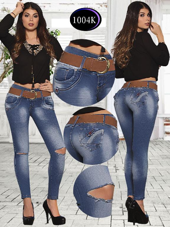 Jeans Levantacola Colombiano Knela  - Ref. 244 -1004 K