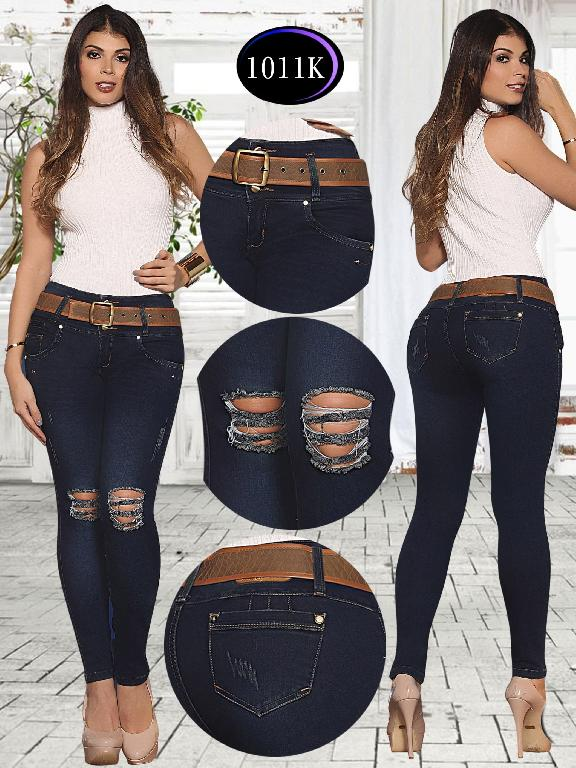 Jeans Levantacola Colombiano Knela  - Ref. 244 -1011 K
