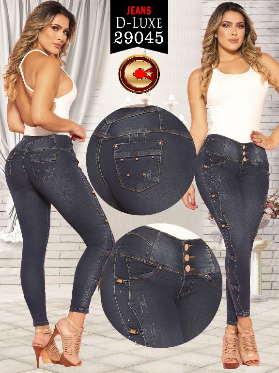 Colombian Butt lifting Jean - Ref. 264 -29045 D-Luxe