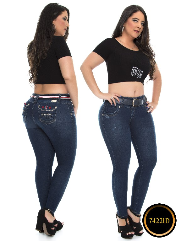 Jeans Levantacola Colombianos Ref 74221 - Ref. 248 -74221 D
