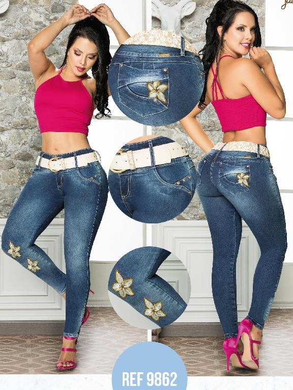 Colombian Butt lifting Jean - Ref. 101 -9862-T