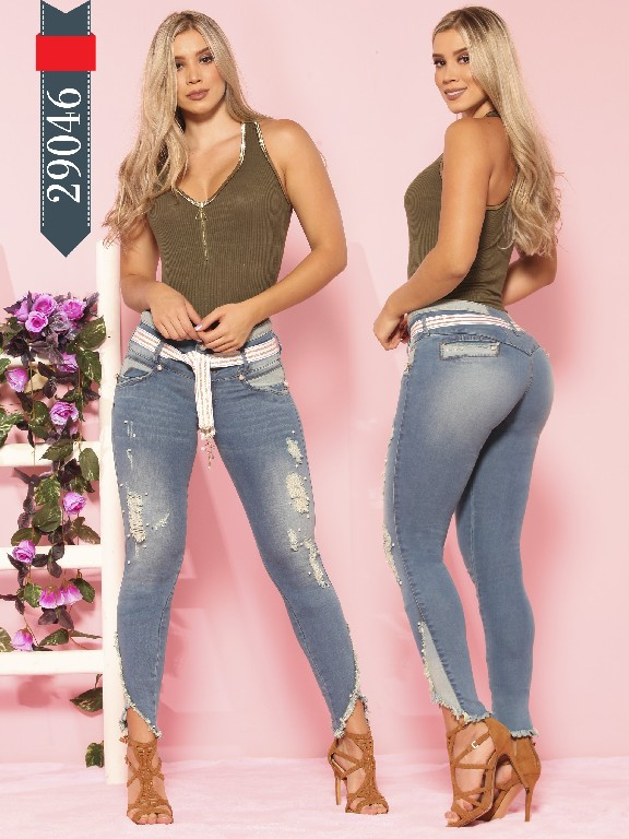 Jeans Colombian Butt Lifting - Ref. 264 -29046 D-Luxe