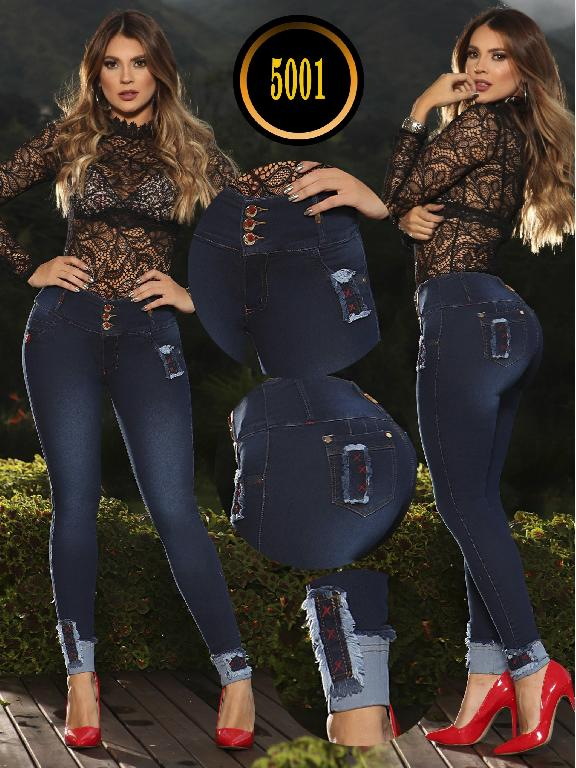 Colombian Butt lifting Jean - Ref. 119 -5001S PLUS