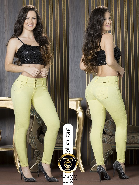 Jeans LevantaCola Colombiano Thaxx Classic - Ref. 119 -12946 TC