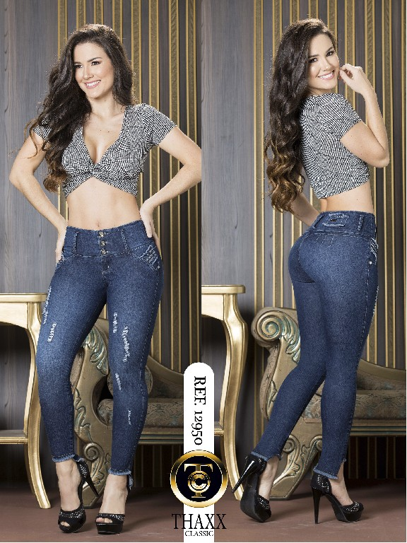 Jeans LevantaCola Colombiano Thaxx Classic - Ref. 119 -12950 TC