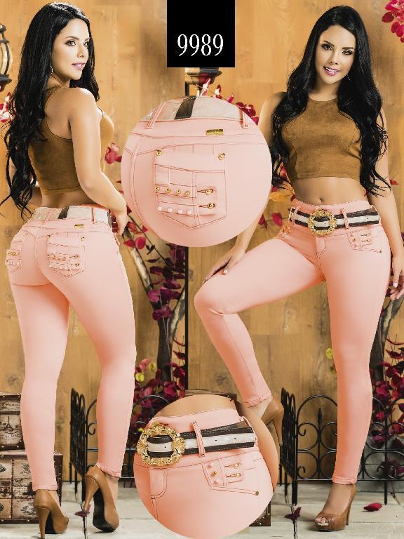 Colombian Butt lifting Jean - Ref. 232 -9989-AZ Plus Size