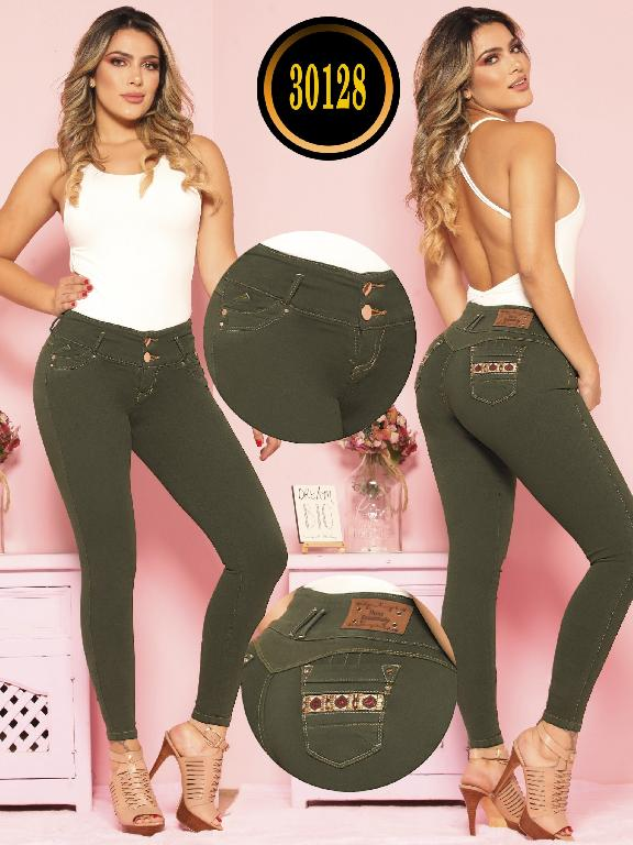 Butt lifting Jean - Ref. 119 -30128 TE PLUS
