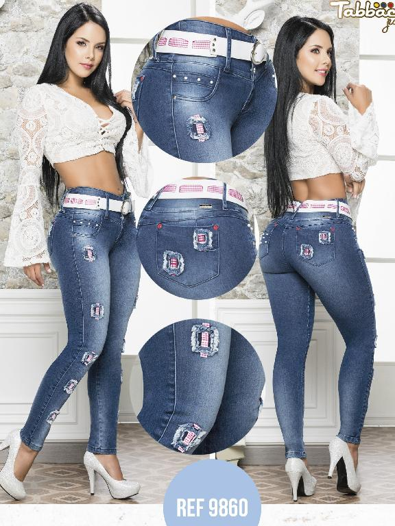 Colombian Butt lifting Jean - Ref. 101 -9860-T