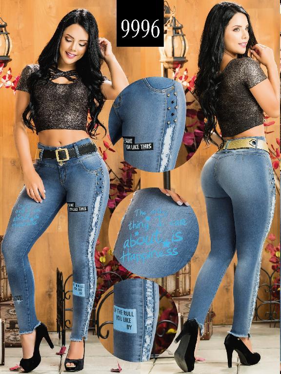 Colombian Butt lifting Jean - Ref. 232 -9996-AZ Plus Size