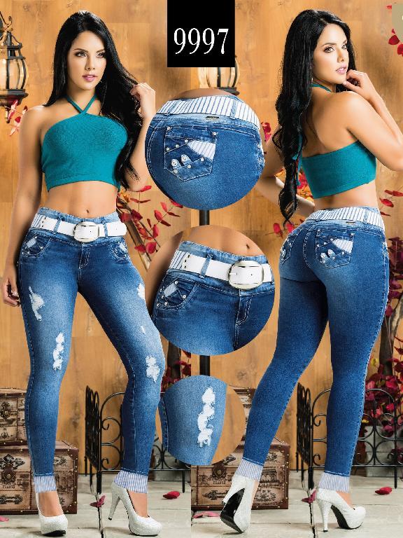 Colombian Butt lifting Jean - Ref. 232 -9997-AZ Plus Size