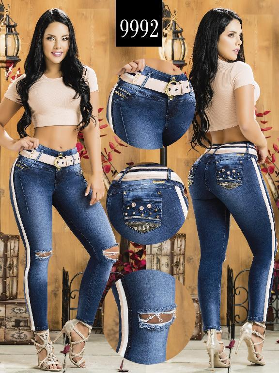 Colombian Butt lifting Jean - Ref. 232 -9992-AZ Plus Size