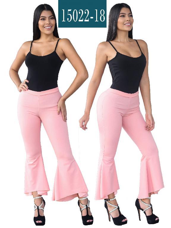 Pantalon Colombiano - Ref. 112 -15022-18 Coral