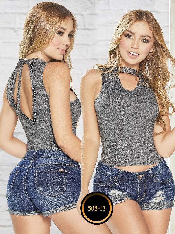 Blusas Colombianas - Ref. 268 -508-13 Gris