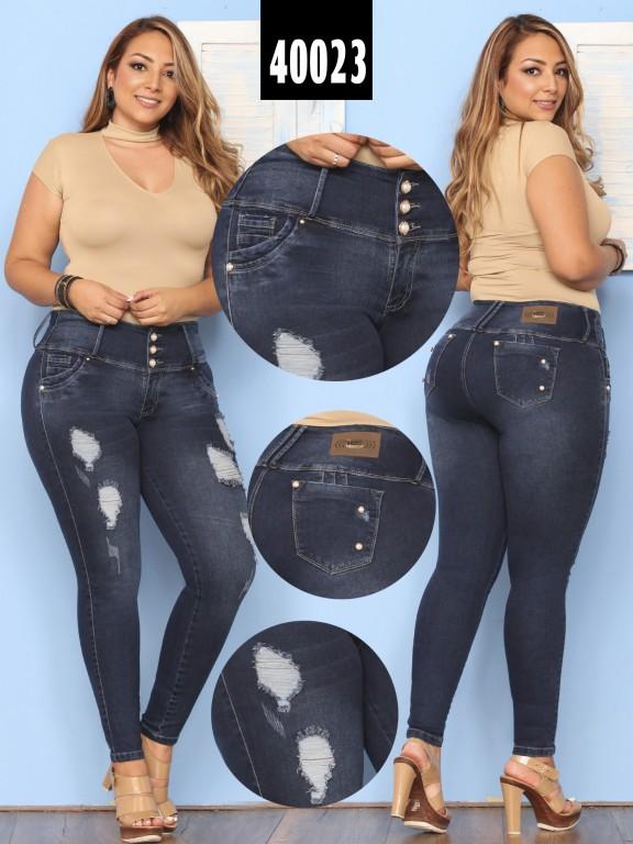 8bc19e54f9 Jeans Plus Size Levantacola Colombiano - Ref. 269 -40023 Plus Size