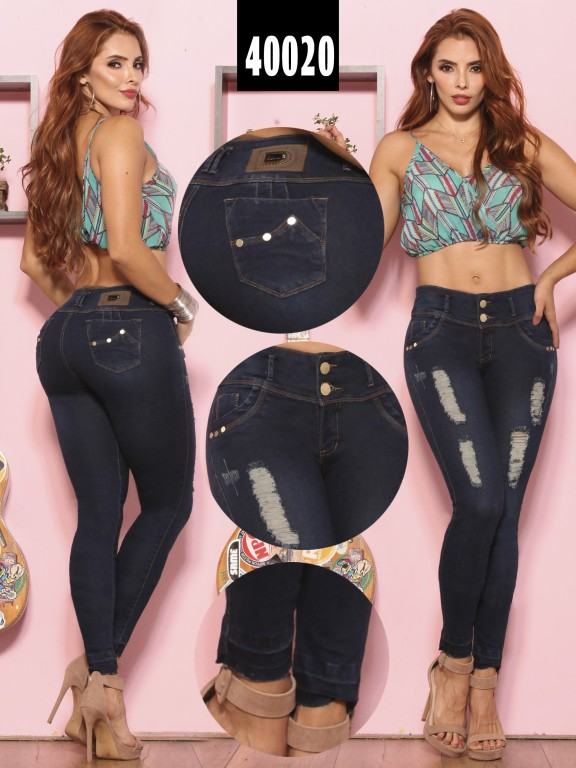 Jeans Levantacola Colombiano  - Ref. 269 -40020