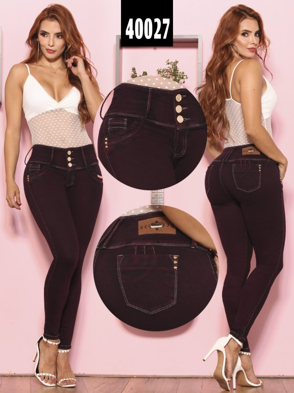 Jeans Levantacola Colombiano  - Ref. 269 -40027