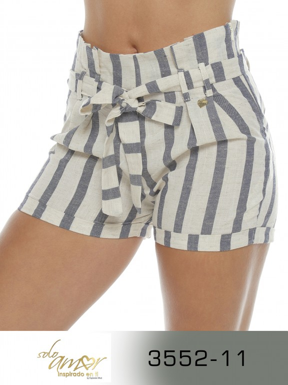 Short Colombiano - Ref. 246 -3552-11 Azul Oscuro