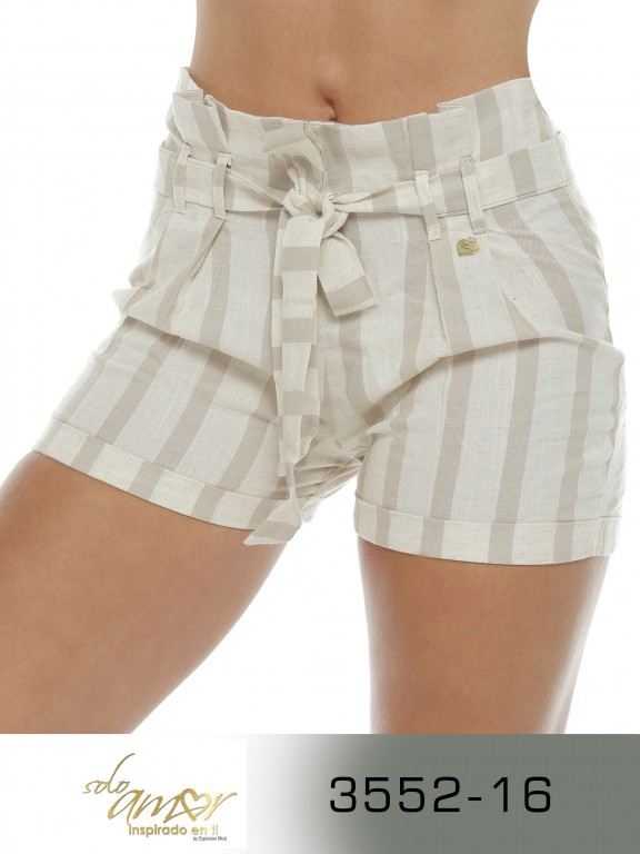Short Colombiano - Ref. 246 -3552-16 Beige