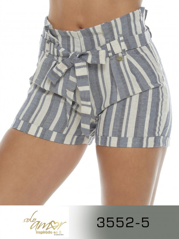 Short Colombiano - Ref. 246 -3552-5 Azul