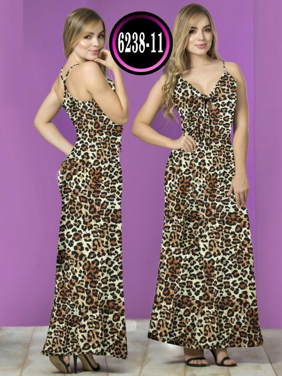 Vestido  Colombiano - Ref. 119 -6238-11