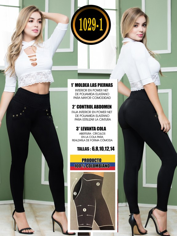Colombian Butt Lifting Leggin - Ref. 119 -1029-1