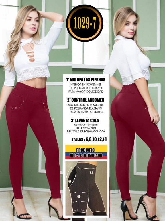 Colombian Butt Lifting Leggin - Ref. 119 -1029-7