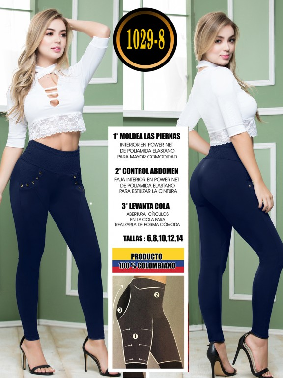 Colombian Butt Lifting Leggin - Ref. 119 -1029-8