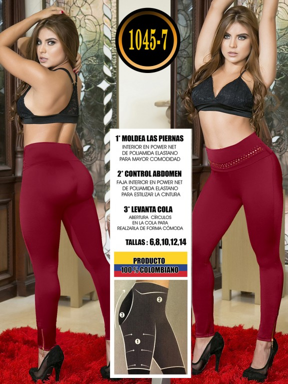 Colombian Butt Lifting Leggin - Ref. 119 -1045-7