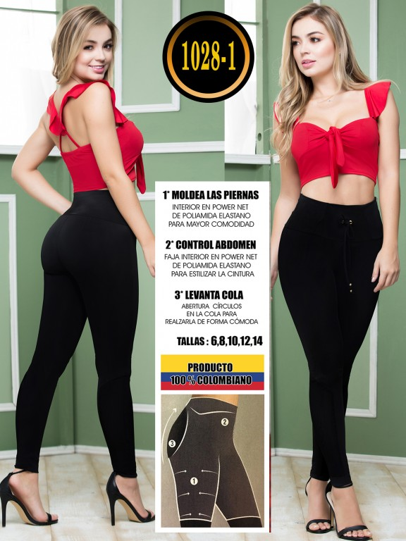 Colombian Butt Lifting Leggin - Ref. 119 -1028-1