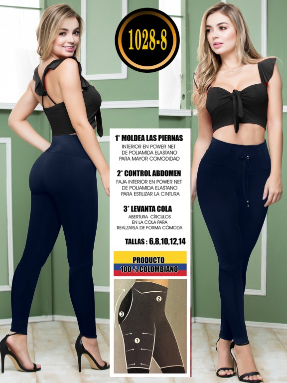 Colombian Butt Lifting Leggin - Ref. 119 -1028-8