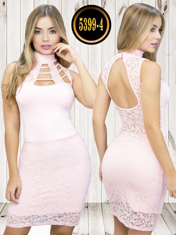 Colombian dress - Ref. 119 -5399-4 Rosado